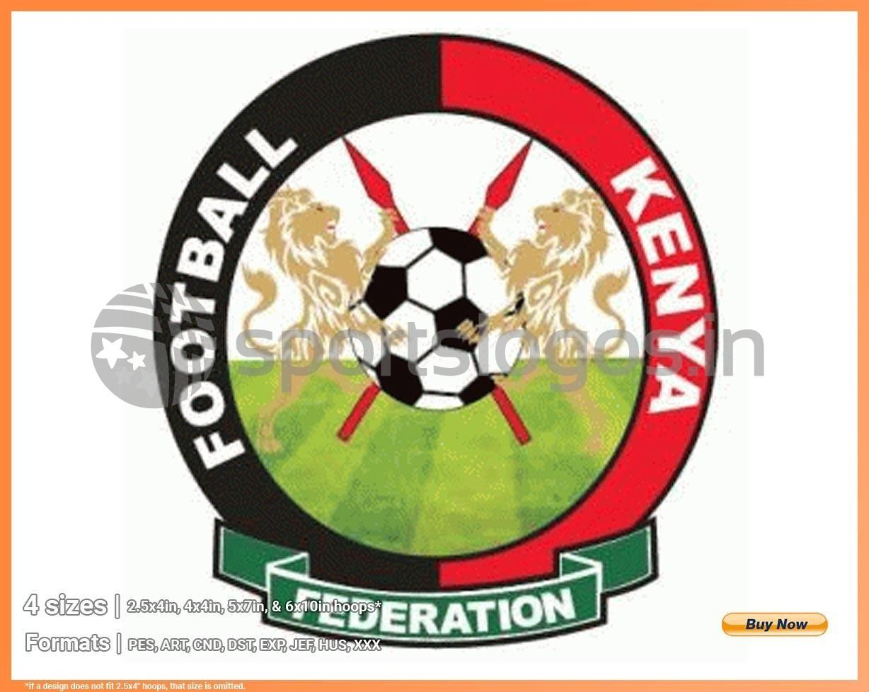 Kenya Soccer Sports Embroidery Logo In 4 Sizes Spln002180 Di 2020