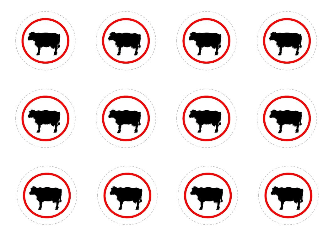 Milk Bottle Cow Label Printable Free