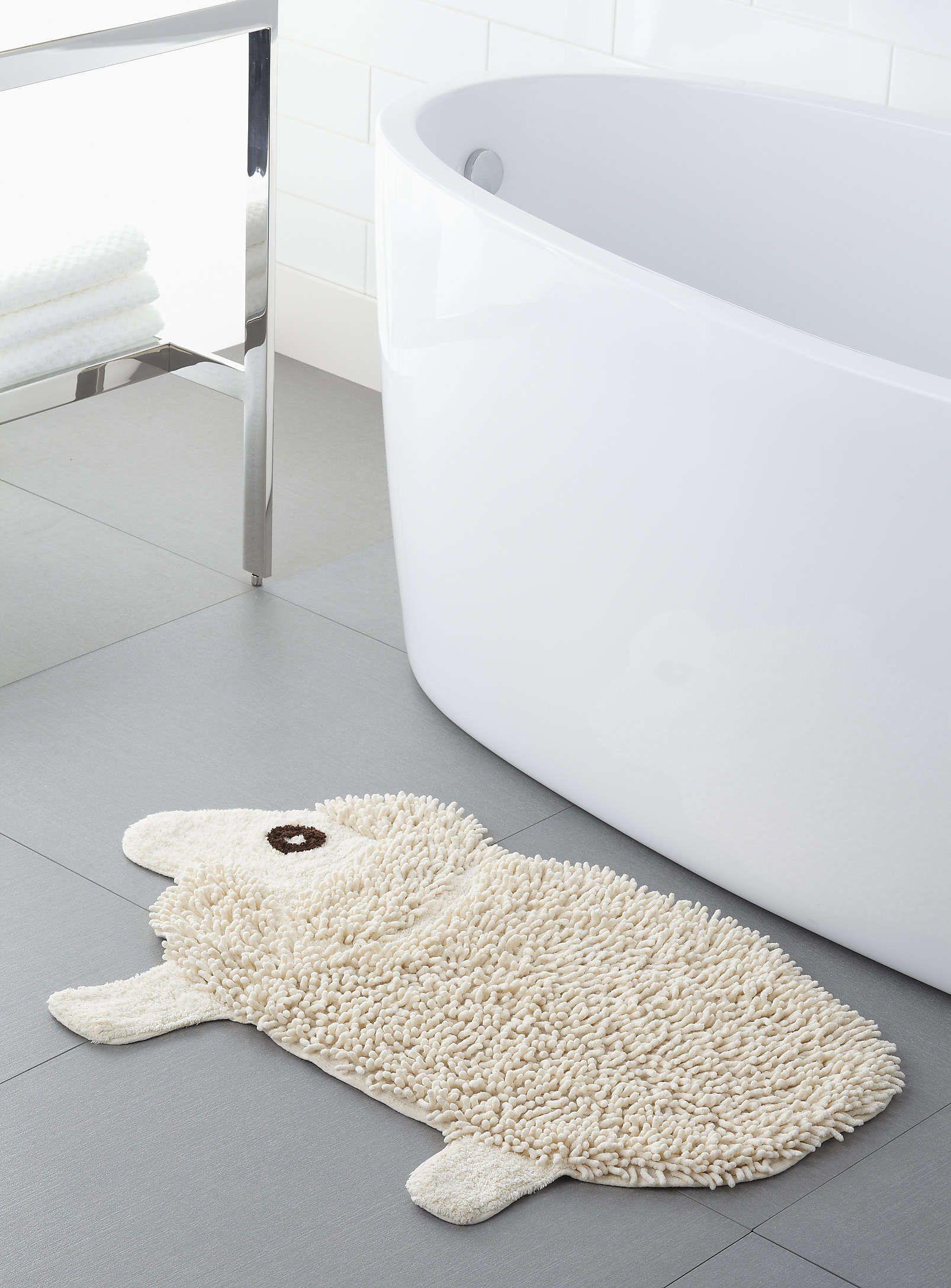 Salle De Bain Exterieur ~ small sheep bath mat tapis de bain mouton simons home bathroom