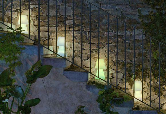 Iluminación para tu jardín en verano ILUMINACION EN JARDINES - iluminacion jardin