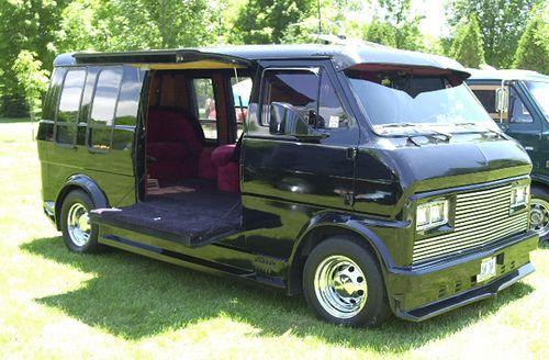 Custom Van Ford Econoline Custom Vans Vans Ford Custom Van