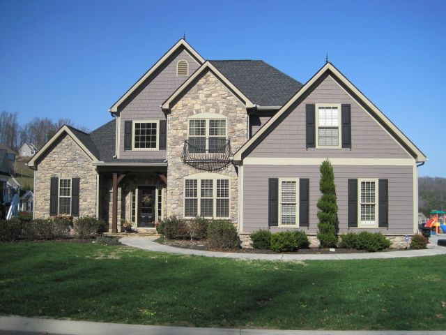 A House We Built In A Neighborhood We Developed Called Weatherstone In Knoxville Tennessee House House Exterior House Styles