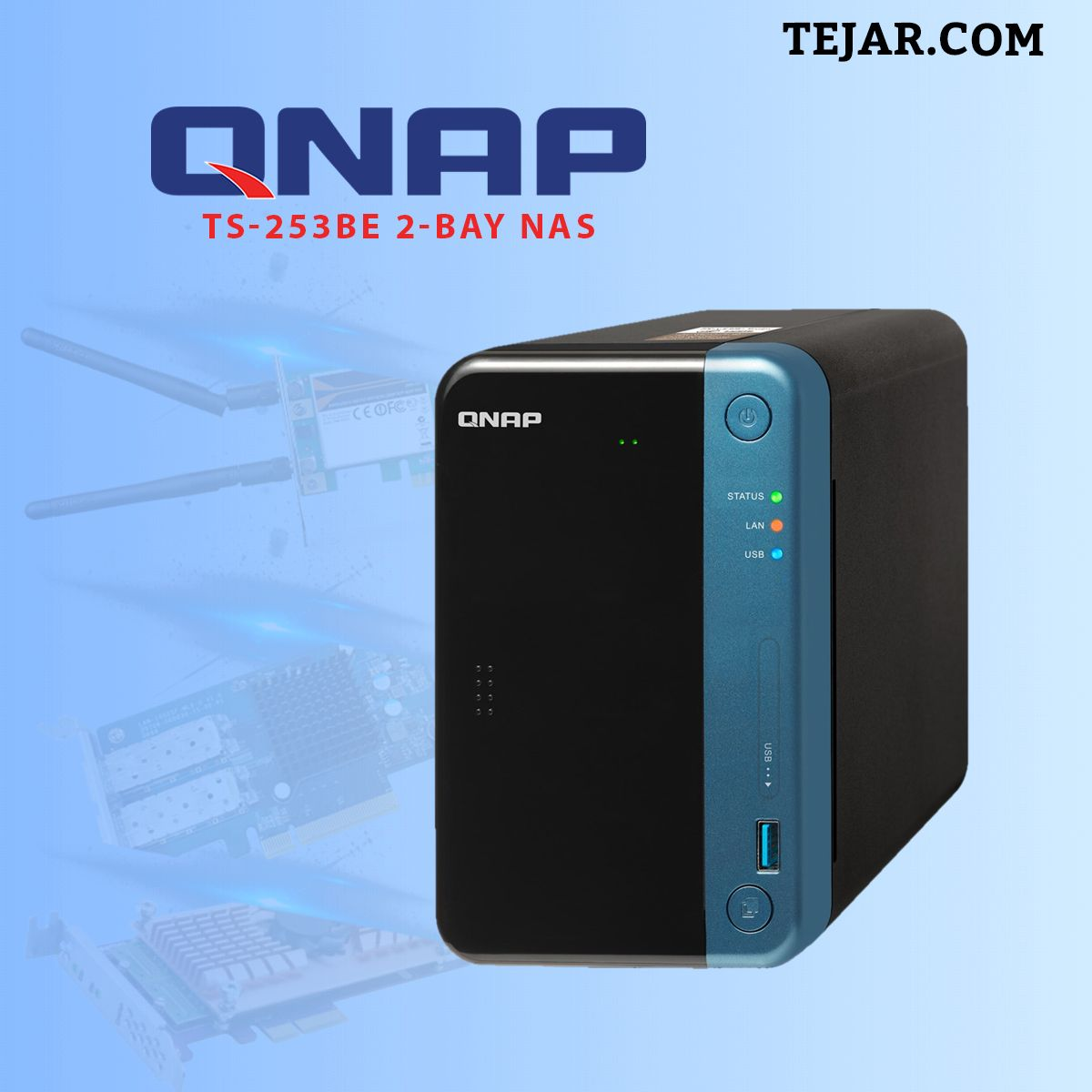 QNAP TS-253Be 2-Bay NAS | Electronics & Computers | Computer