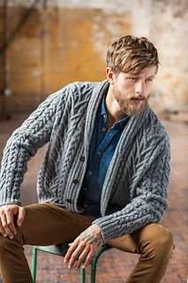 Timberline_5_small2 For son number 2 - containing two of my favourite knitted elements - cables and shawl collar. Gotta love Brooklyn Tweed!