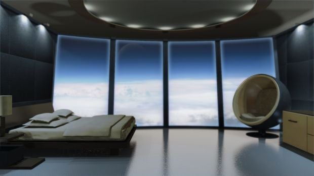 Sci Fi Room Futuristic Bedroom Spaceship Interior Futuristic Interior