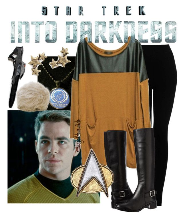 """""""Star Trek: Command"""" by suchagoldensnitch ❤ liked on Polyvore featuring Federation, Topshop, Ralph Lauren Collection, Vince Camuto, Avant Garde Paris, women's clothing, women, female, woman and misses"""
