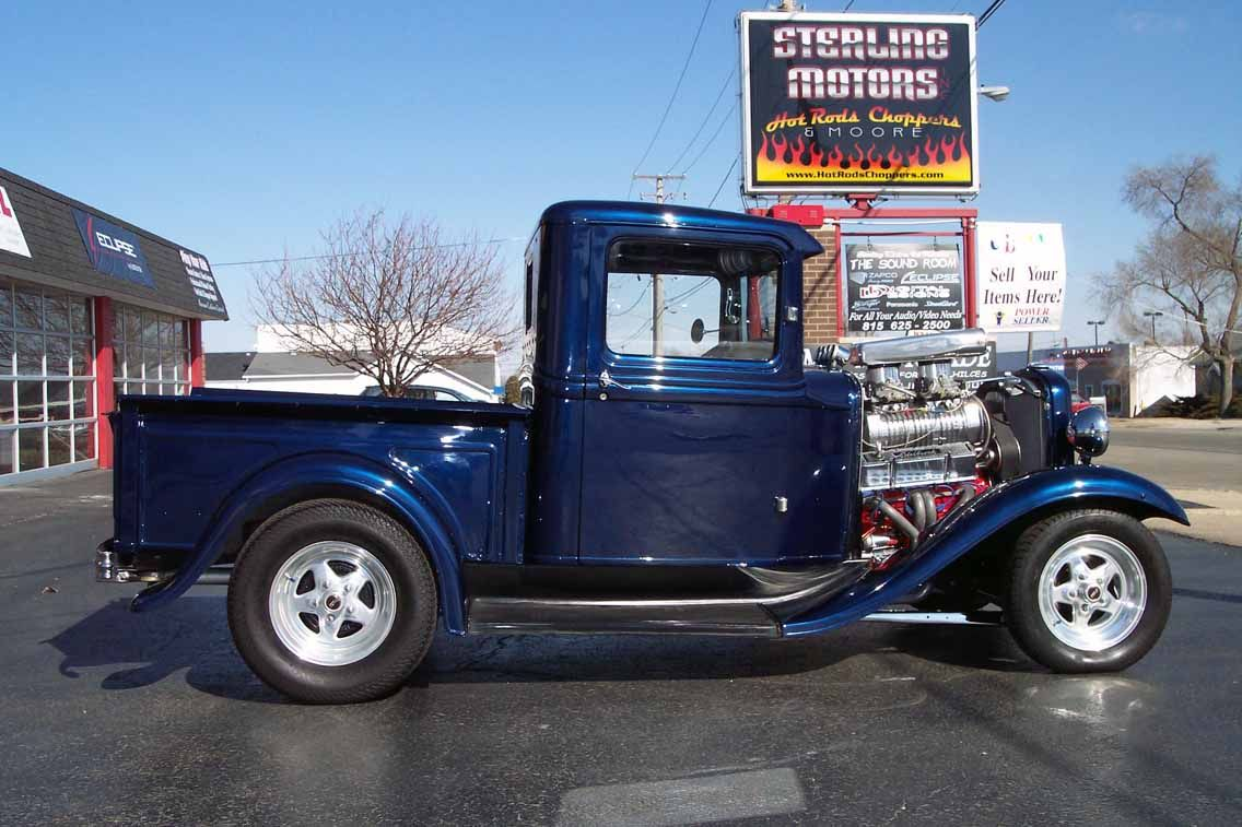 images of ford hot rod trucks | 1930 Ford Model Pickup Custom Hot ...