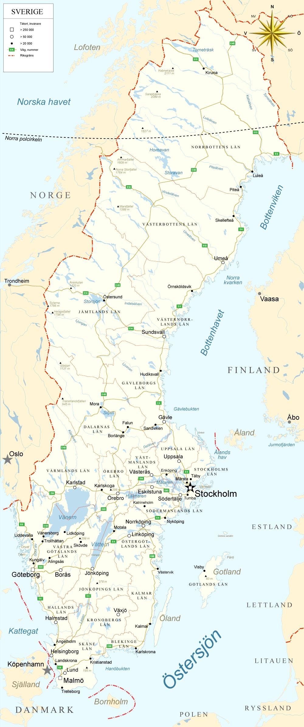 With Images Sweden Map Sweden Sweden Travel