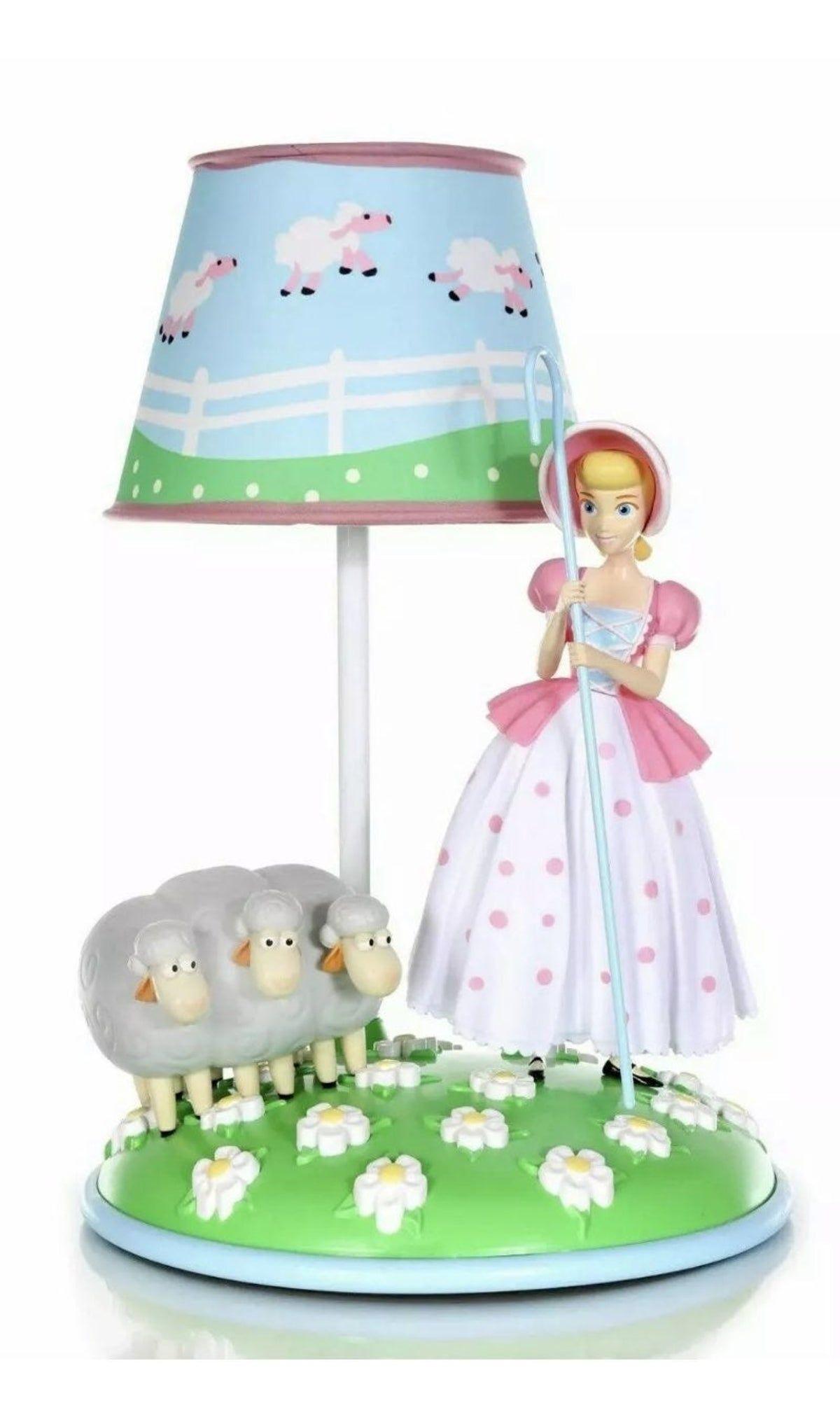 Disney Pixar Toy Story 4 Bopeep Lamp 201 On Mercari In 2020 Pixar Toys Mood Light Disney Pixar