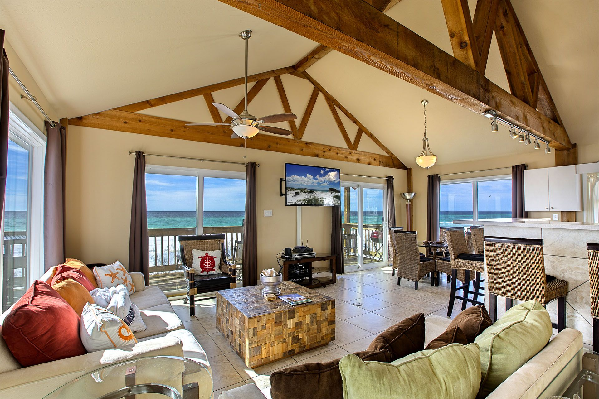 This is incredibly rare. A 2 bedroom beachfront home in