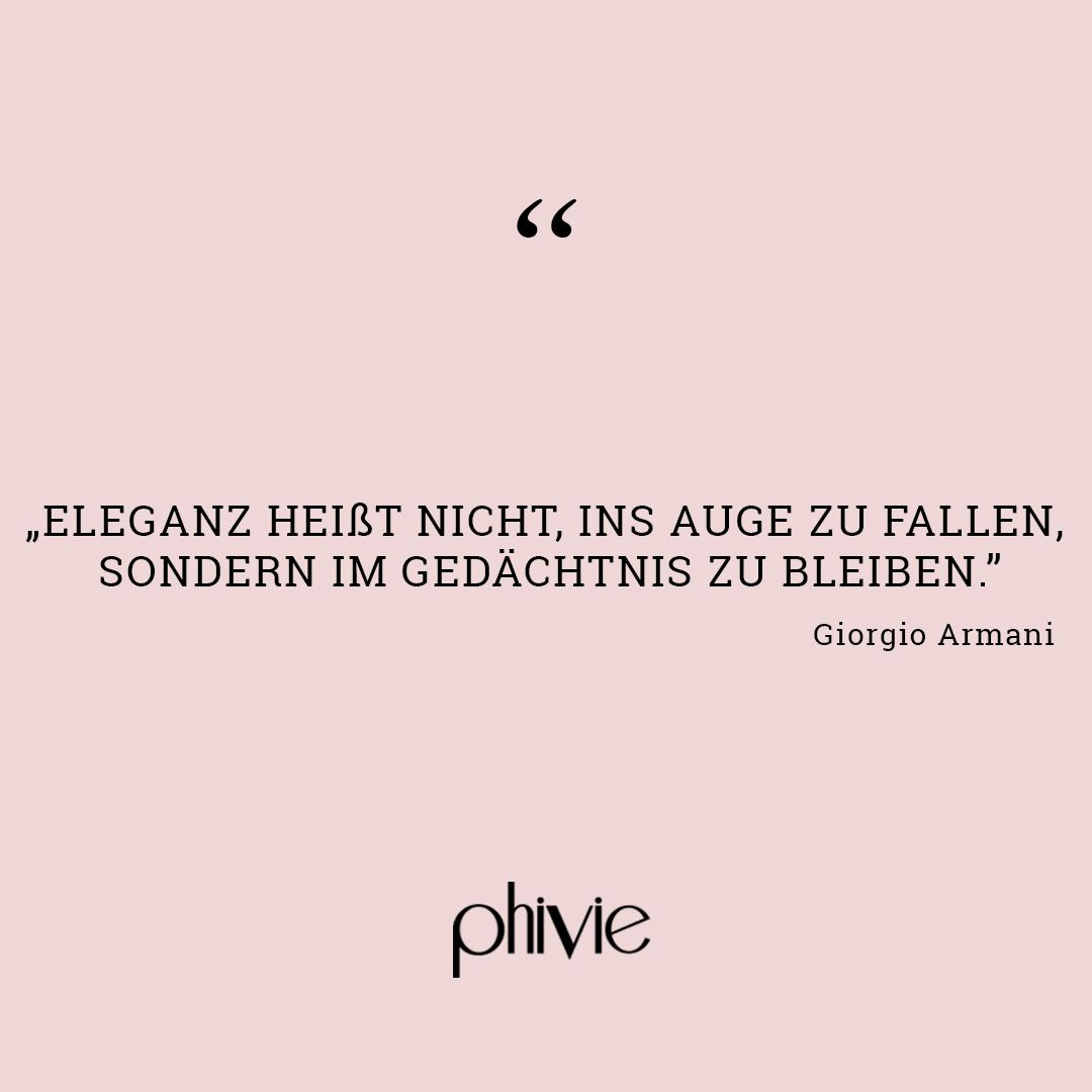 Zitat Von Giorgio Armani Nachdenkliche Sprüche Zitate Und