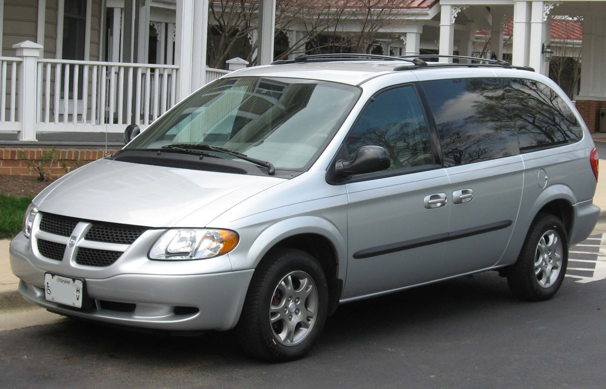 2004 Dodge Caravan - bought this when I retired from teaching and went into  trade show rep job.