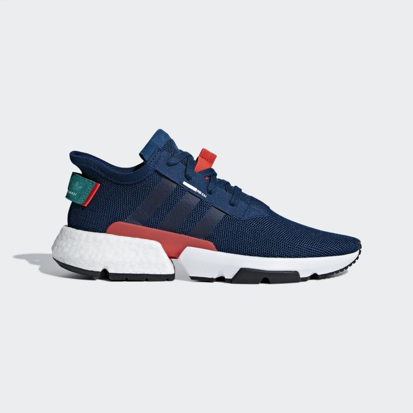 POD-S3.1 Shoes Blue Night   Hi-Res Red   Sub Green F37067 aee2ffa64