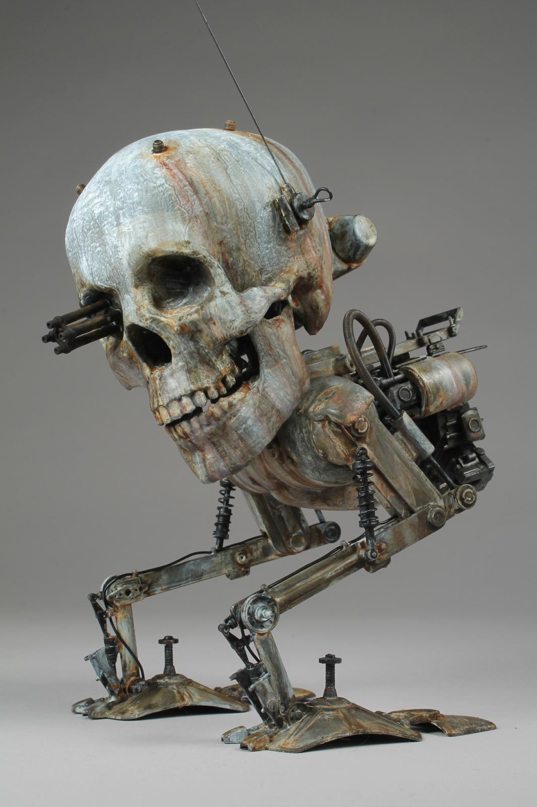 #death #head #krote #top #art #Kow #Yokoyama #maschinen #krieger #mak #sf3d #scale #model #scfi #1/20 #diorama