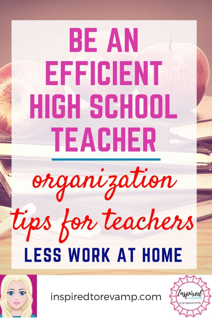 Photo of How to Become an Efficient High School Teacher   Inspired to Revamp