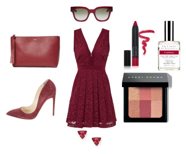 """""""Cran Cran"""" by lovely-naledi on Polyvore featuring Free People, Bobbi Brown Cosmetics, Theory, Laura Geller, Rupert Sanderson, Sun Buddies and FOSSIL"""