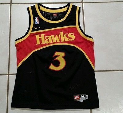 Rare, Vintage Nike New Jersey Nets Basketball Jersey