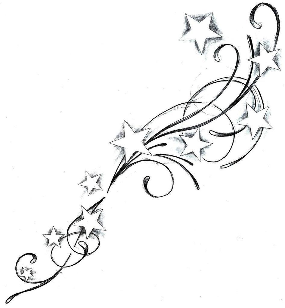 Stern Tattoo Vorlage Star Tattoos Tattoo