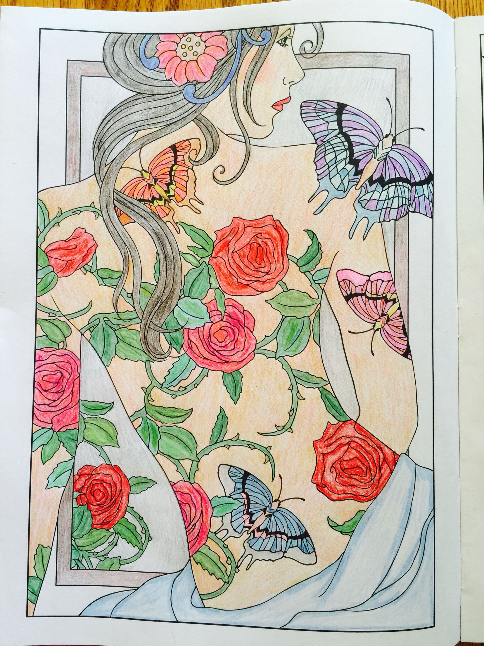 - Body Art-Tattoo Designs Coloring Book By Marty Noble