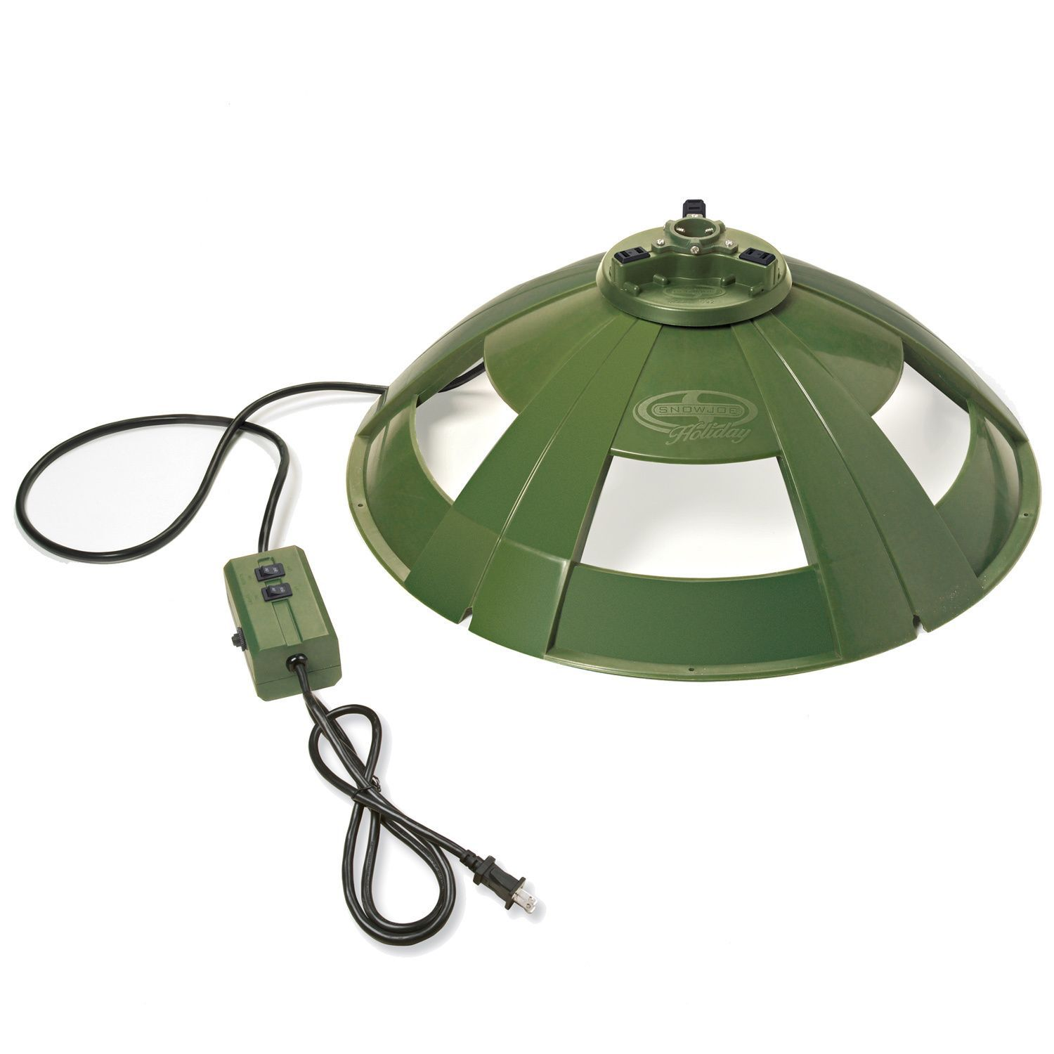 Snow Joe Holiday Rotating Tree Stand for Artificial Trees ...