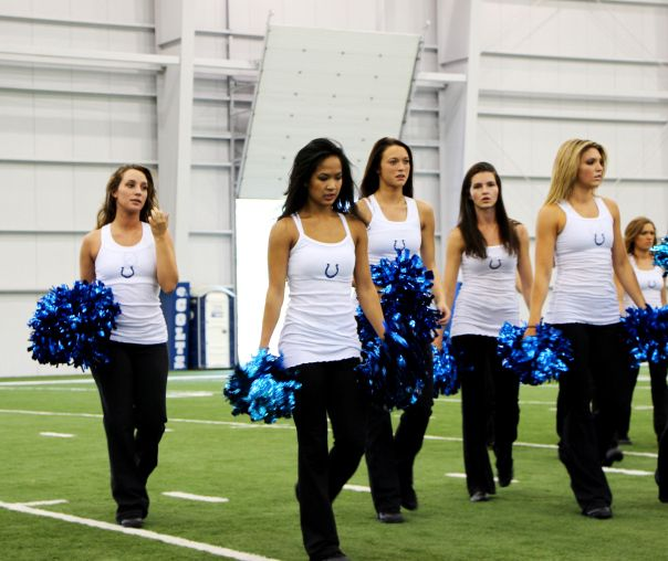 5df8d14c Making the Cut to Become an Indianapolis Colts Cheerleader   Real ...
