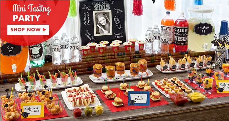 Great Graduation Party Food Suitable For Any And A Buffet At An Open House Celebration Description From Houzzbathroom Tk I Searc