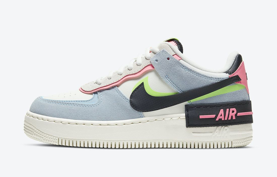 Nike Air Force 1 Shadow Sunset Pulse CU8591-101 Release Date - SBD ...