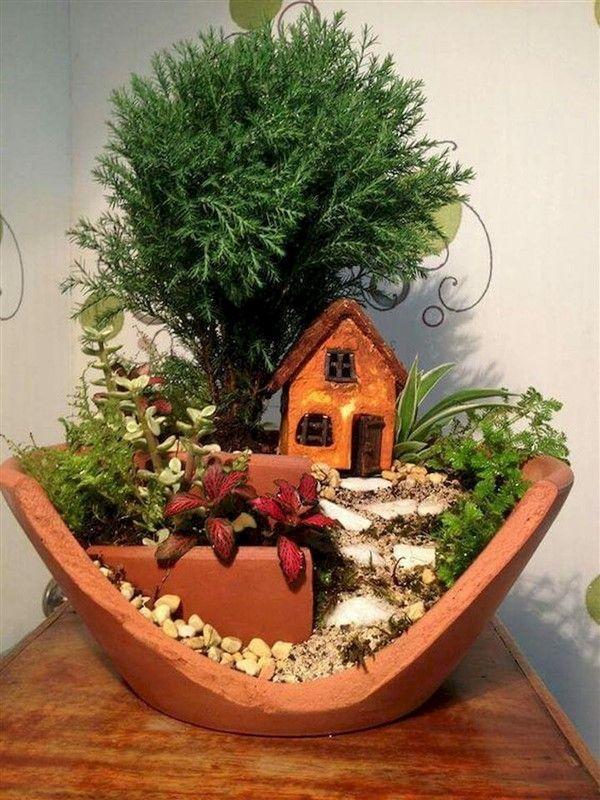 Photo of Mini gardens 597712181782653465 –  Charming Fairy Garden Ideas with Broken Pots …