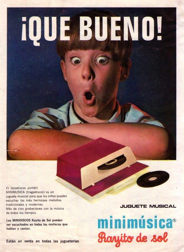 ¡Minimusica! Argentina - Rayito de Sol. 1968.