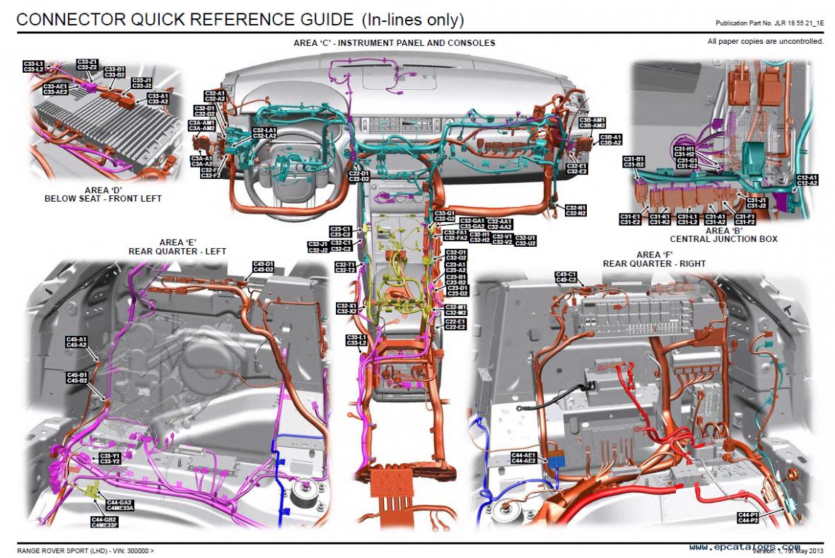 Engine Diagram Range Rover Sport V7