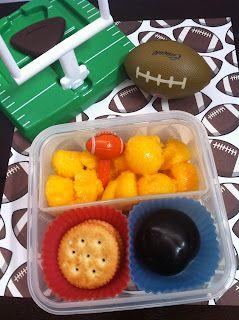 El Lunch de mi Enano: Empieza la temporada de Football Americano!