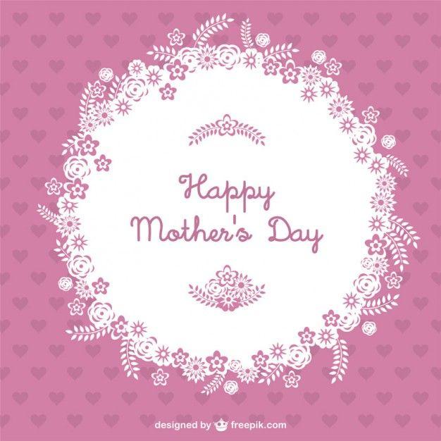 Baixe Vetor Dia Das Mães Feliz Gratuitamente Feliz Día De