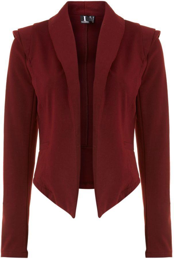 House of Fraser Izabel London Structured detail blazer because sometimes a pop of color is ok