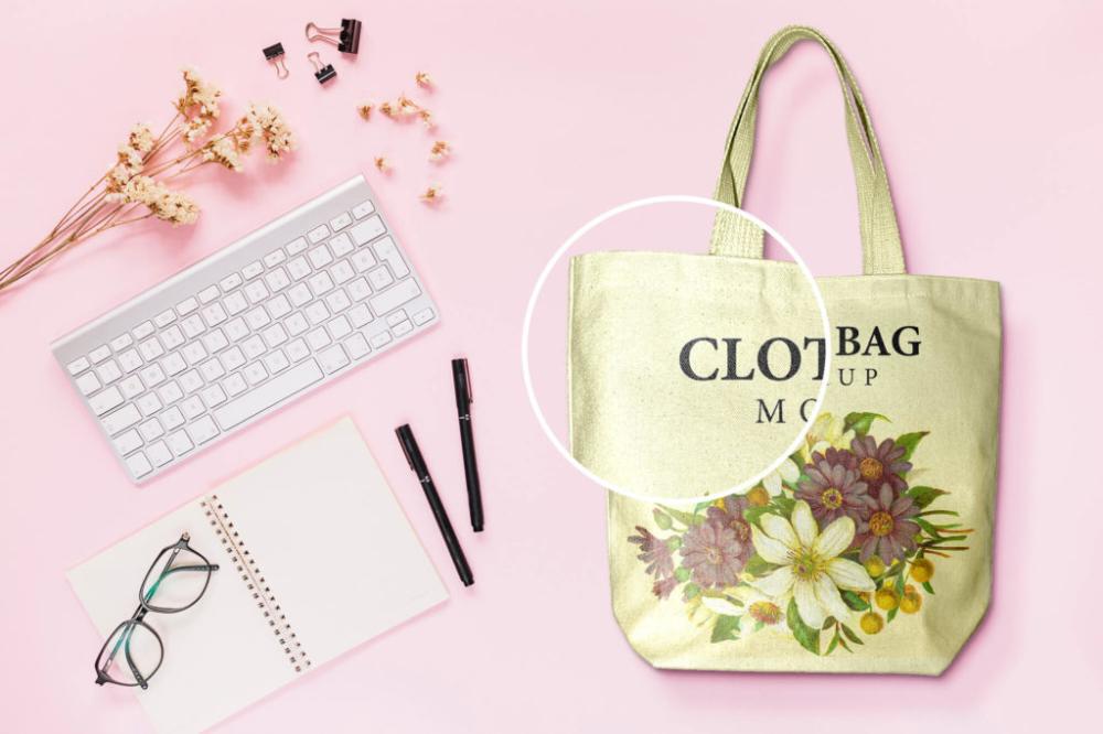 Download 16 Best Free Cloth Bag Mockup Psd Templates Bag Mockup Cloth Bags Bags