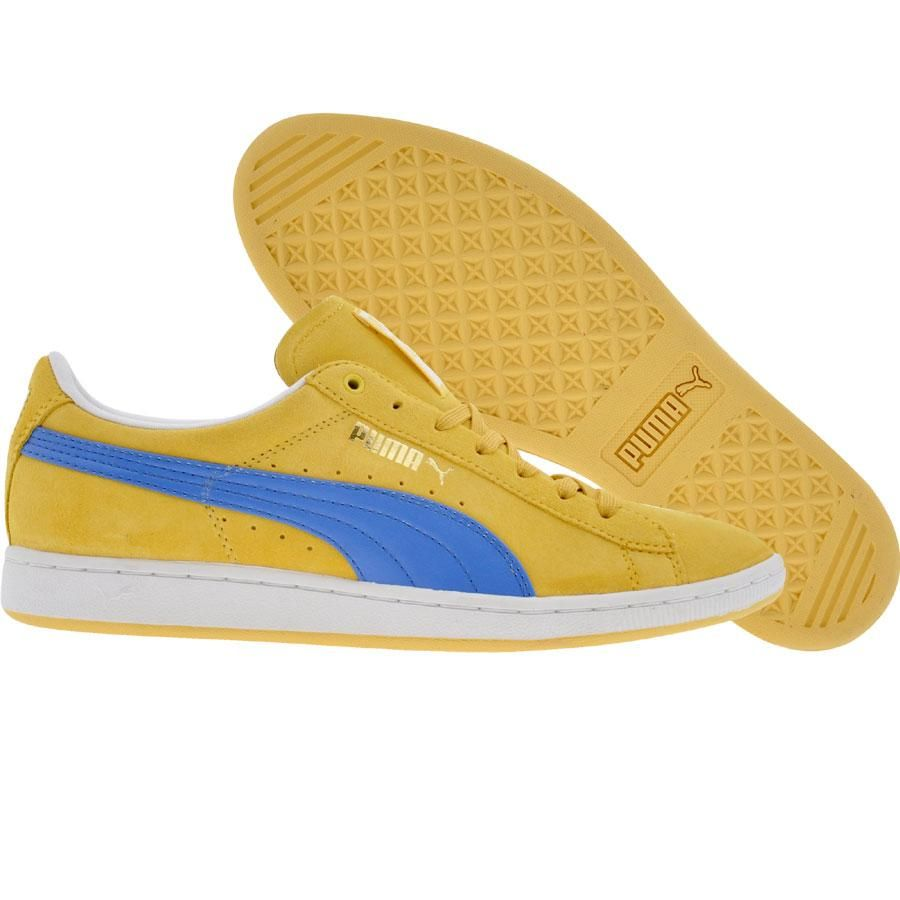 77b70ded510a Puma Womens Supersuede (team yellow   palace blue) 351275-05 -  59.99