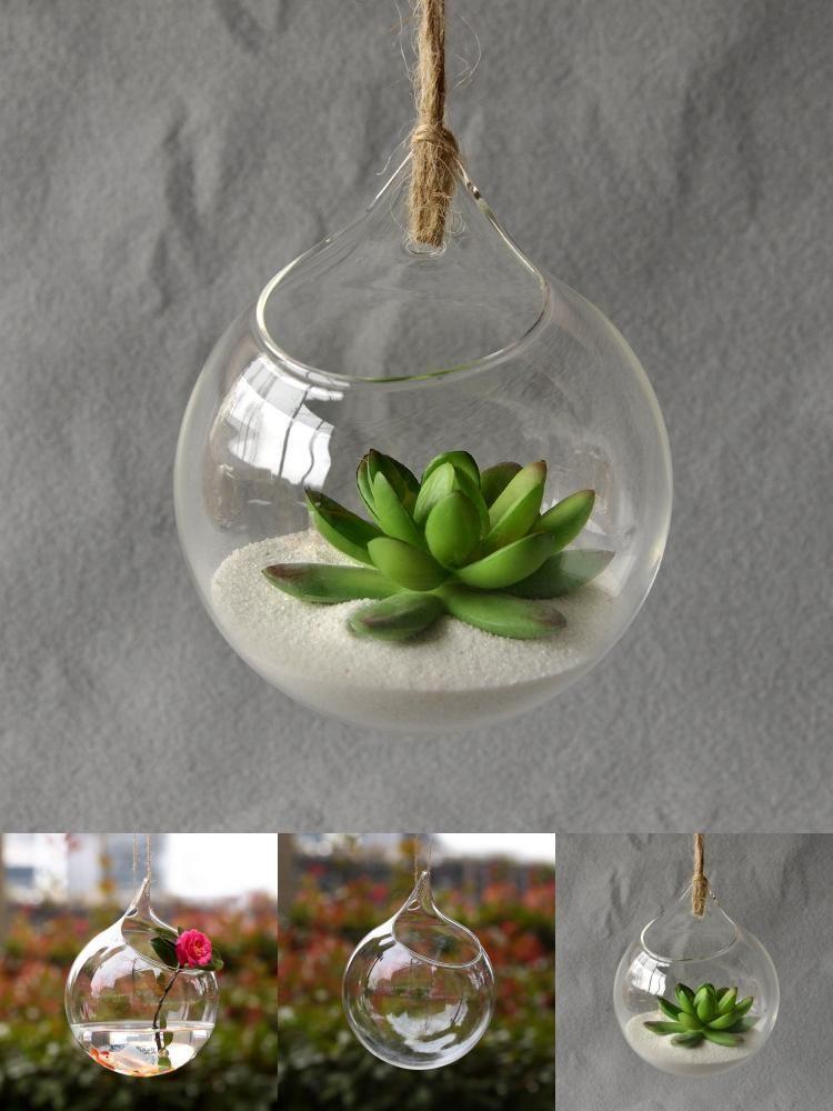 Visit To Buy Hanging Glass Vase Hanging Terrarium Glass Vase