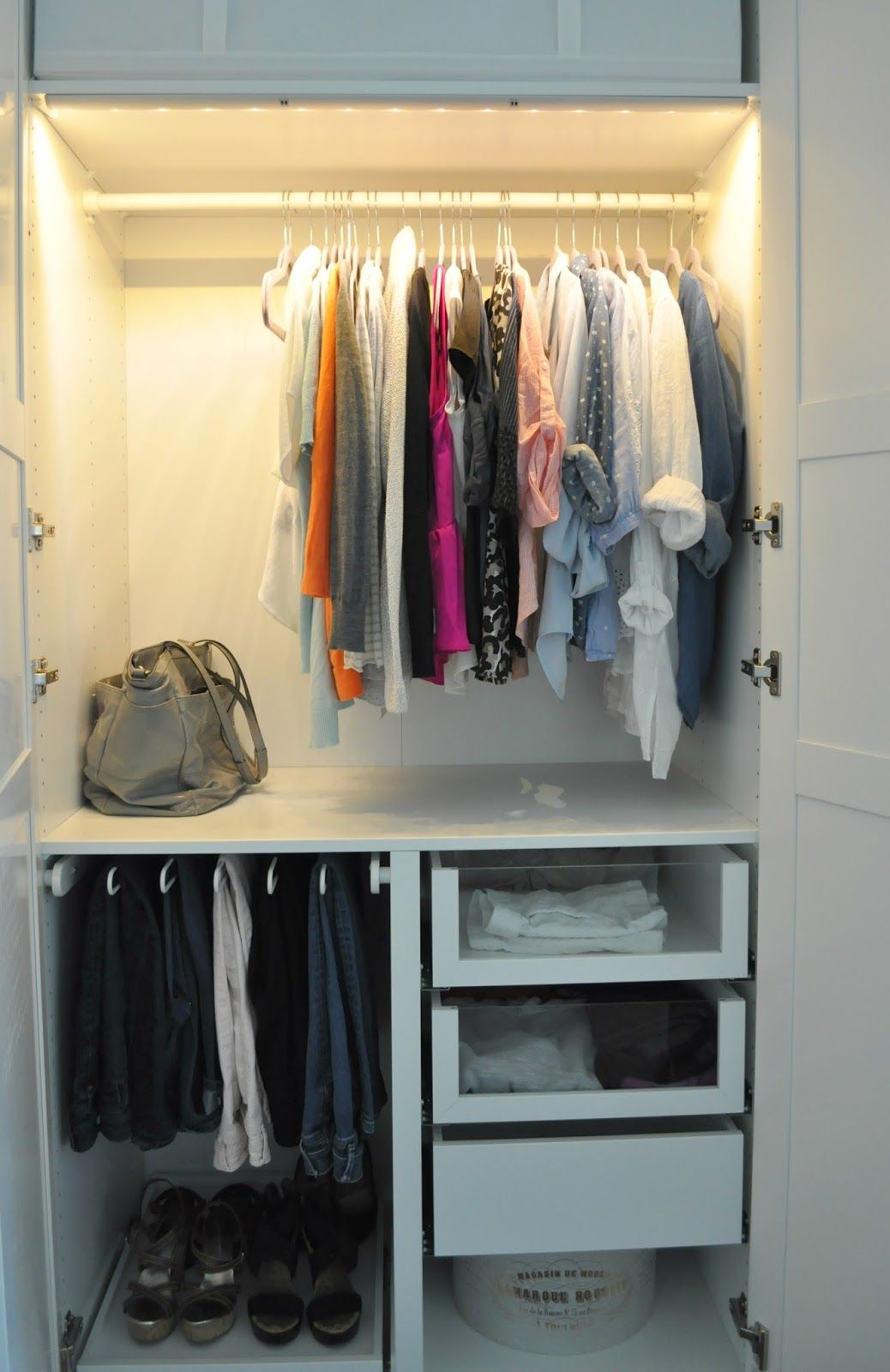 Getting a customized look with Ikea Pax wardrobes