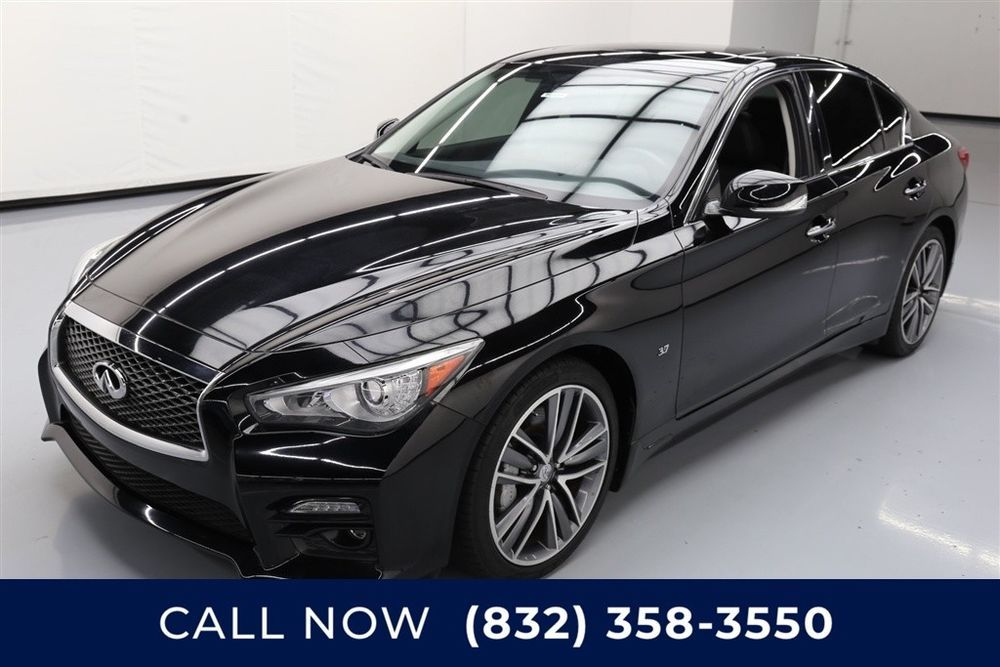 Infiniti Q50 Sport Texas Direct Auto 2015 Sport Used 3.7L