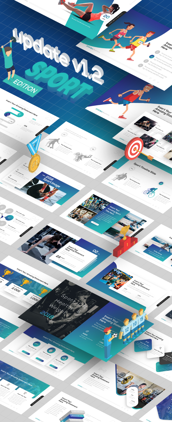 2018 epic presentation template pinterest presentation templates flashlogo keynote template website powerpoint templates presentation toneelgroepblik Image collections