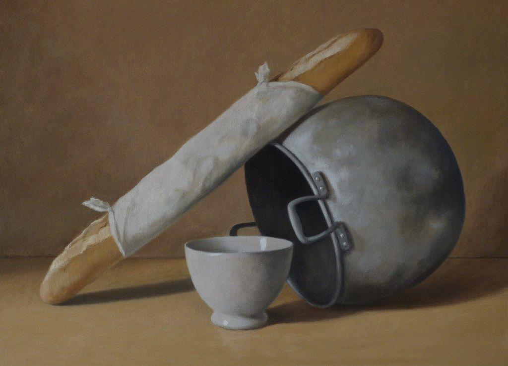 Olla, pan y bol - menorcaartgallery.com - La galería de arte de Menorca_product
