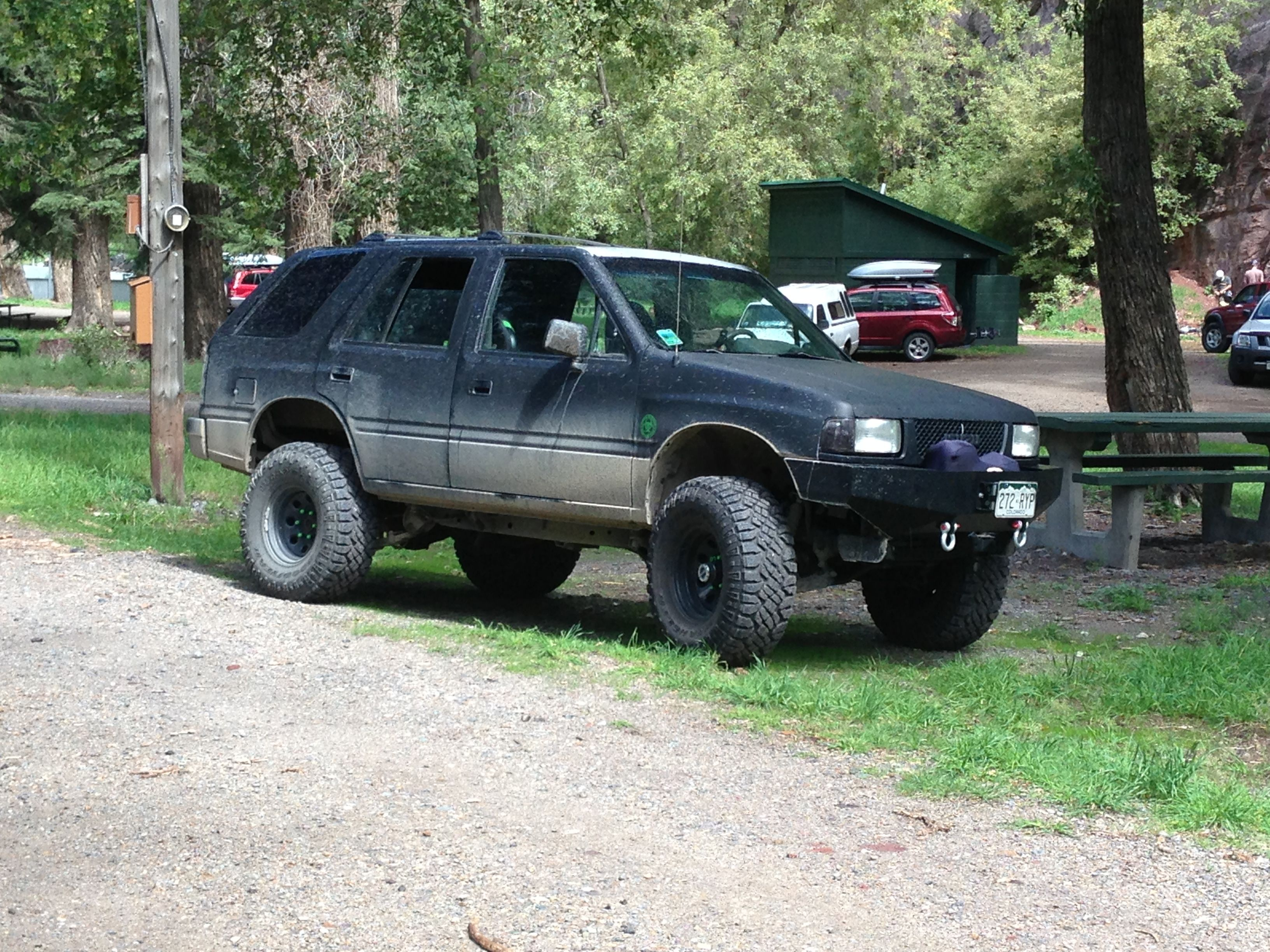 92 isuzu rodeo 6 lift 33 duratrac isuzu rodeo pinterest rodeo