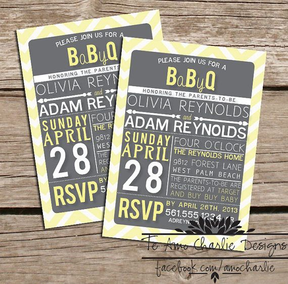 1000+ images about Baby BBQ Bash on Pinterest | Hot dogs, Shower ...
