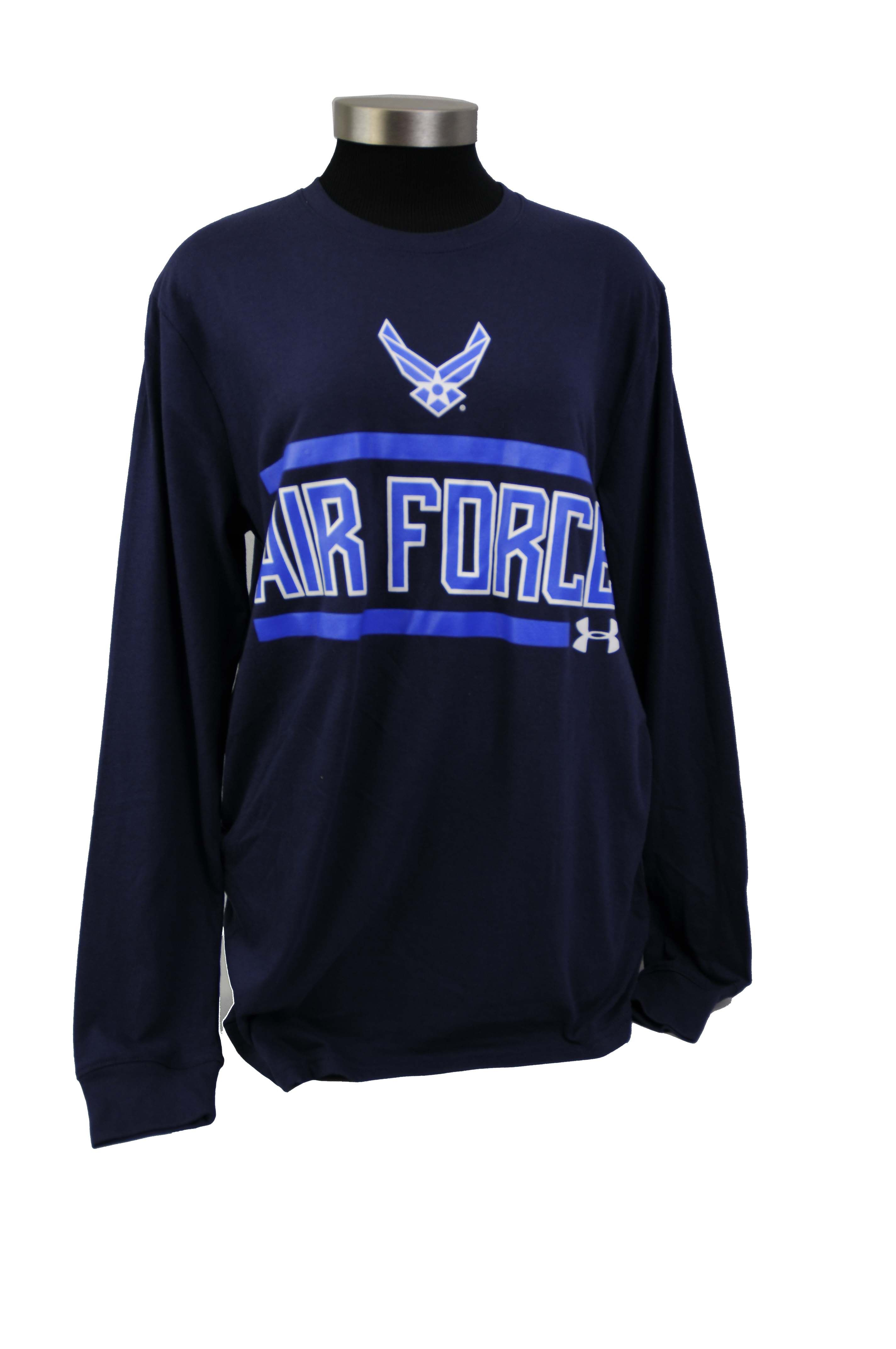 AIR FORCE L/S UNDER ARMOUR Under Armour shirt featuring