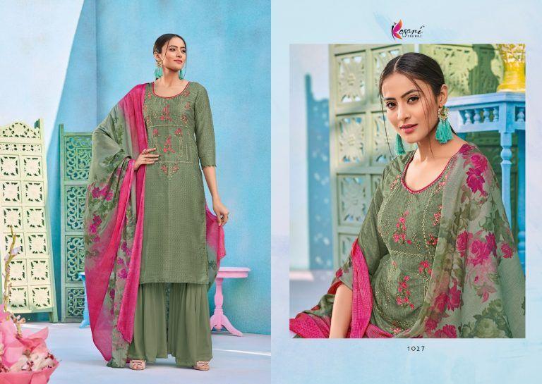 405ee1a579 alisa vol 4 by kesari trendz pure upada silk designer dress collection -  Krishna Creation