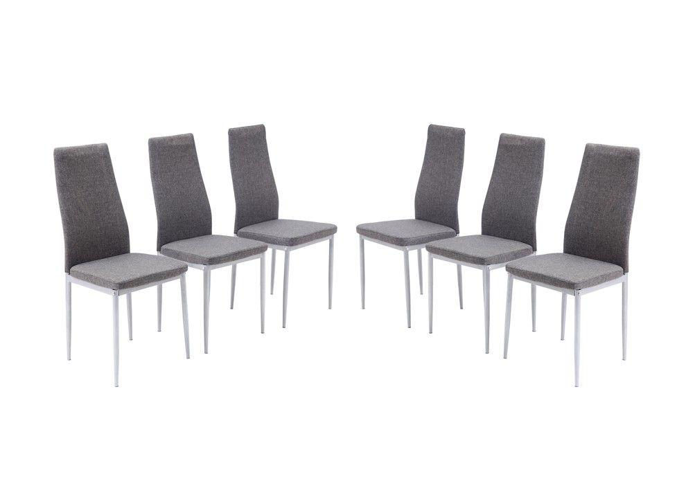 étonnant Chaise Grise Salle A Manger Pas Cher Décoration - Cdiscount chaise de salle a manger pour idees de deco de cuisine