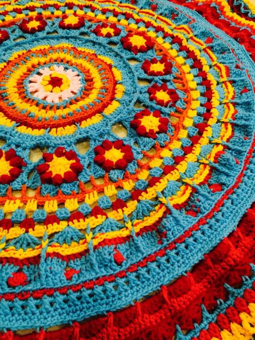 Pin Von Chrys Yates Auf Mandala Pinterest Häkeln Tuch Häkeln