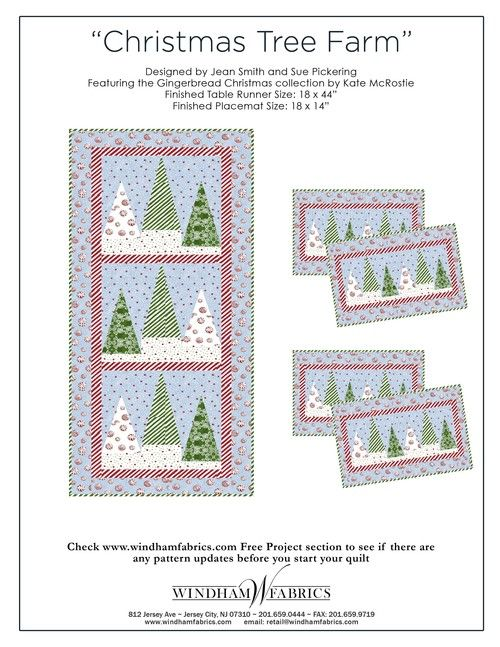 Christmas Tree Farm by Jean Smith and Sue Pickering | Quilting