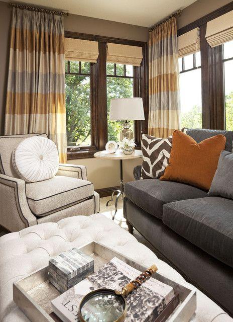 24 Marvelous Fall Themed Interior Design Ideas Tan Living Room Living Room Orange Gray And Tan Living Room