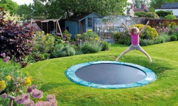 Spielgerate Fur Garten 25 Prima Modelle Archzine Net Eingelassenes Trampolin Bodentrampolin Hinterhof Spielplatz