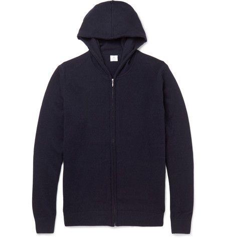 Sunspel Cashmere Zip-Up Hoodie. #sunspel #cloth #sweats